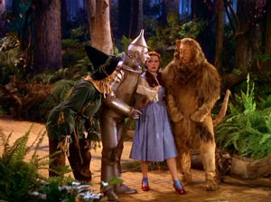The Wizard of Oz and Political Symbolism: Wizard of Oz Movie, Yellow Brick Road Scene.