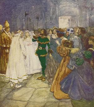 Tall Tales: Fable Folktale Fairy Tale Legend Myth — Robin Hood reveals himself.