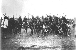 The Wizard of Oz and Political Symbolism: Iroquois war dance at Pine Ridge, 1890