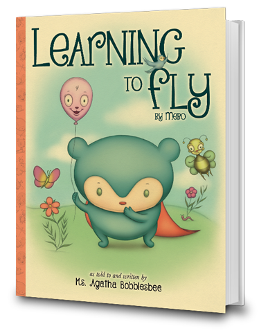 Learning To Fly - By Mebo the Blue Panda Bear - An Endearing Read-To-Me Bedtime Story Children's Book