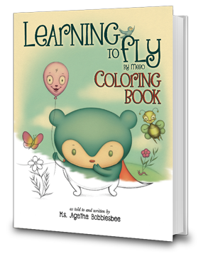 Learning To Fly - An Endearing Read-To-Me Children's Book